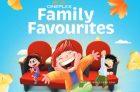 Cineplex Family Favourites Listing