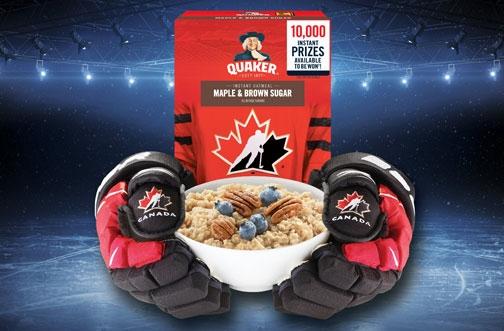 Quaker Contest | Hockey Hungry Contest