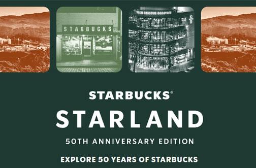 Starbucks Contest Canada | Starland 50th Anniversary Edition