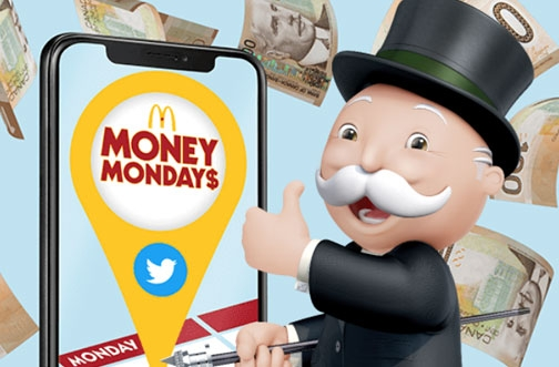 McDonald's Money Mondays Contest