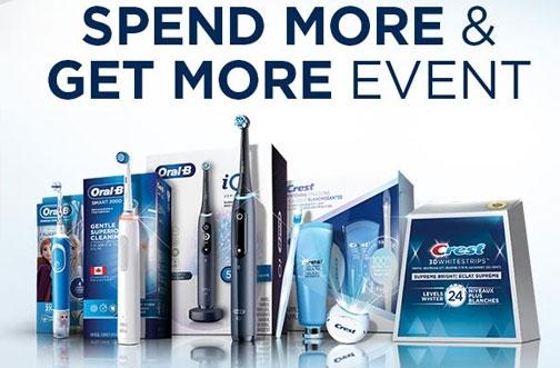 Oral-B Promotion Canada | Spend & Get Prepaid MasterCard