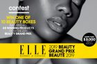 Win a 2019 Elle Grand Prix Beauty Box