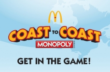McDonald's Coast to Coast Monopoly 2019