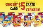 Kellogg's Grocery Cash Promotion