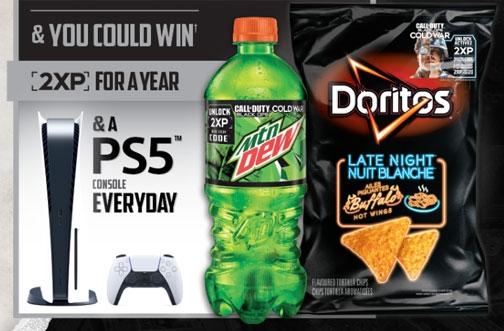 Doritos Contest Canada | Dew & Doritos Call of Duty Black Ops Cold War Contest
