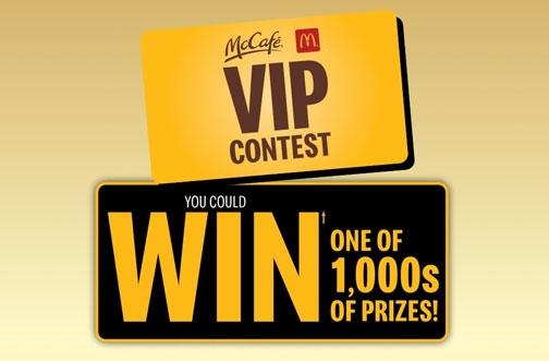 Keurig Contest | McCafe VIP Contest
