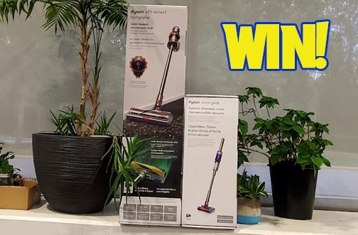 Best Buy Contests | Win a Dyson Vacuum + 20 Years of Tech Contest + Win A Fitbit Luxe