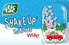 Tic Tac Contest   Shake Up The Holidays & Win
