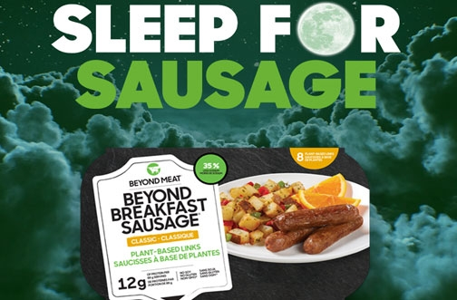 Free Beyond Meat Breakfast Sausages