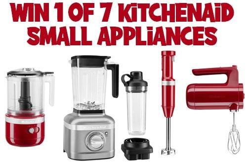 KitchenAid Contest Canada | Win 1 of 7 Small Appliances