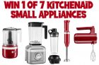 KitchenAid Contest Canada   Win 1 of 7 Small Appliances
