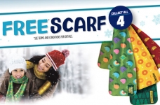 General Mills Canada Promotion | Get a Free Scarf
