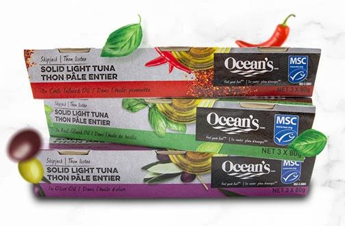 Ocean's Contest | Win New Ocean's Tuna in Oil