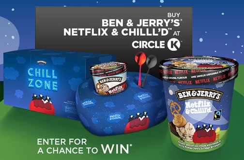 Circle K Contests | Netflix & Chill'd Contest + Drink. Snack. Score.