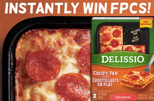 Delissio Contest | Instantly Win Crispy Pan Pizza