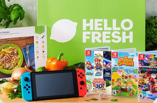 Hello Fresh Contest | Nintendo Switch x Hello Fresh Giveaway