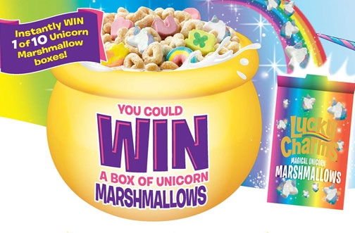 Lucky Charms Contest | Win a Box of Unicorn Marshmallows