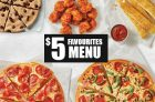Pizza Hut Coupons & Deals Canada   October 2020 + $5 Favourites Menu + Free Hershey's Bar