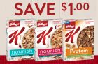 Kellogg's Special K Cereal Coupon