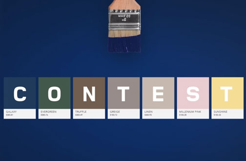 RONA Contest Canada | ECO Paint Contest