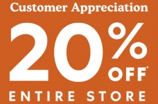 Roots Customer Appreciation Sale