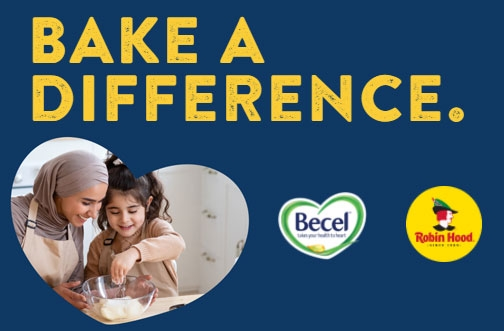 Becel Contest | Bake a Difference Contest