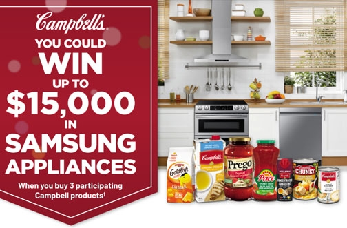 Campbell's Contest | Win Samsung Appliances