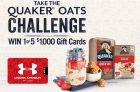 Quaker Oats Challenge