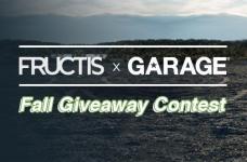 Garnier Fructis x Garage Fall Giveway