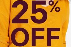 Joe Fresh Sales | 25% Off