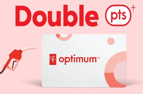 Esso Mobil PC Optimum Bonus Points Offer