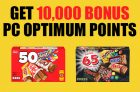 10,000 PC Optimum Points on Halloween Chocolate