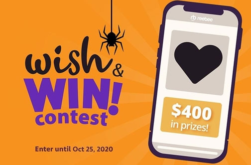 reebee Contest | Wish & Win Contest