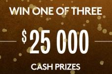 Van Houtte Contest   WIN $25,000 in Cash!