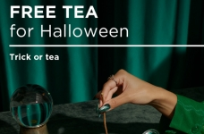 DAVIDsTEA – Free Tea for Halloween