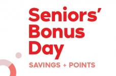 SDM Senior's Day Savings + Points