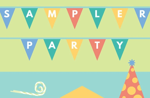 Sampler Free Sample Packs | May Sampler Party