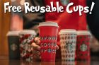 Starbucks is Giving Away Free Reusable Red Cups