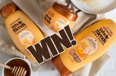 Garnier Contest Canada | Whole Blends Honey Treasure Giveaway