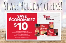 Tim Hortons Share Holiday Cheers Offer
