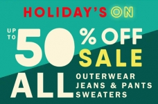 Old Navy Holiday's On – Save Up to 50% + 30% Off Coupon Code