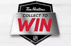Tim Hortons Contest |  Collect & Win Hockey Contest