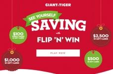 Giant Tiger Flip 'N' Win Contest