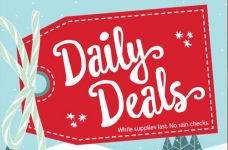 Michaels Holiday One Day Deals