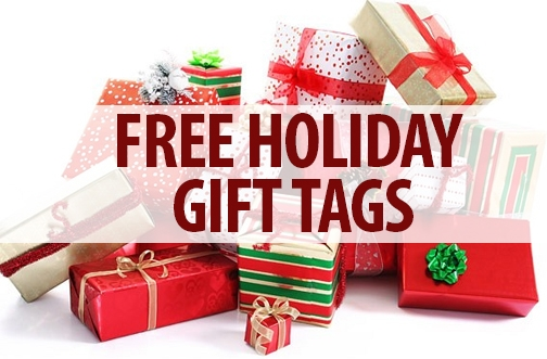 Free Holiday Gift Tags You Can Print At Home