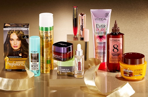 L'Oreal Canada Contest | Holiday Product Basket Giveaway
