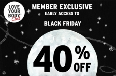 The Body Shop Black Friday Early Access