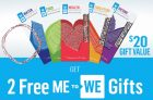 General Mills – 2 Free Me to We Gifts