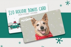 PetSmart $10 Holiday Bonus Card Offer