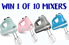 KitchenAid 5-Speed Ultra Power Hand Mixer Giveaway